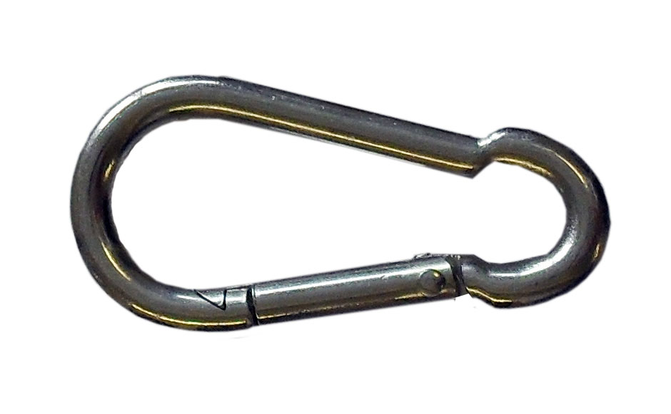 [05831] Steel Shackle Clip On  (Carbine Hook)