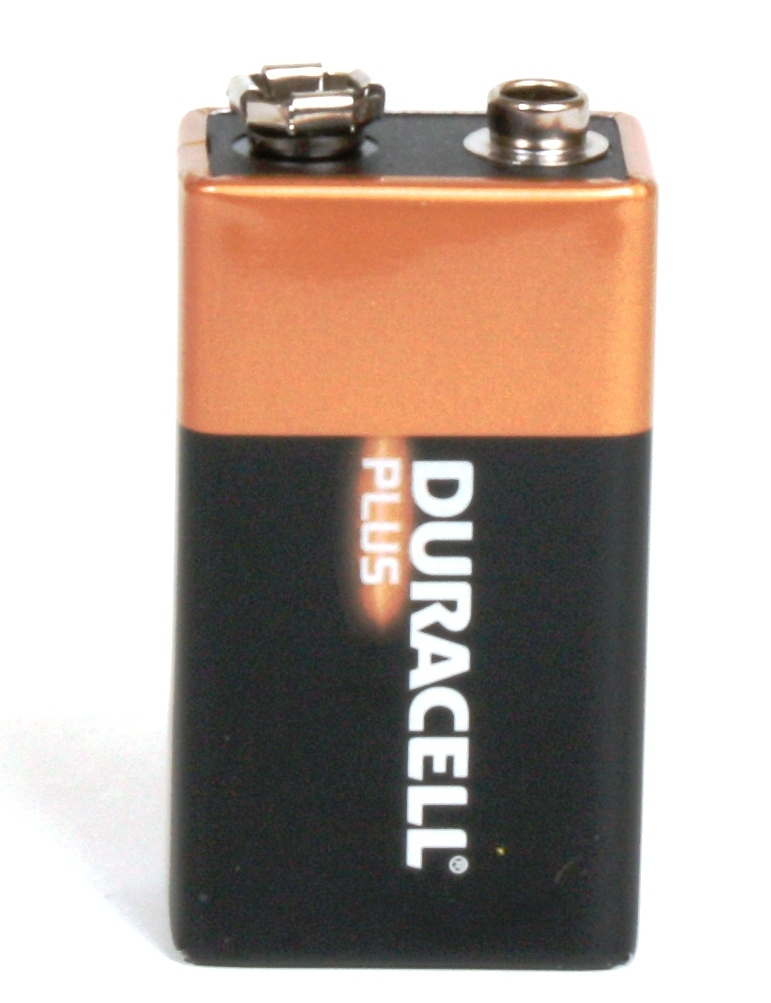 [12162] Duracell MN1604 Card of 1 (PP3)